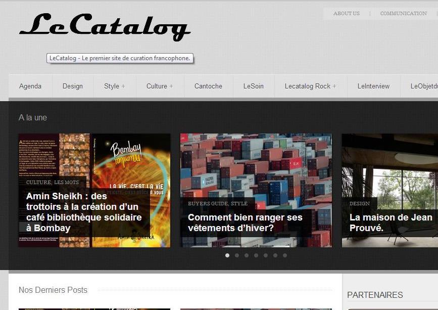 Le catalog